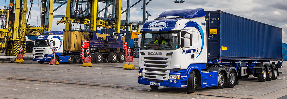 maritime purchase new container handler for leeds