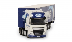 Tekno Model DAF Truck with Curtainsider