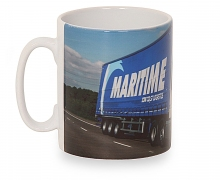 Curtainsider Photo Mug