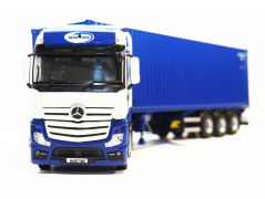 Tekno Model Mercedes Actros with Container