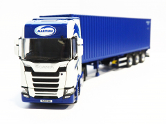 Tekno Model NGT Scania with Container