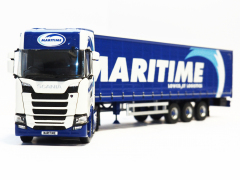 Tekno Model NGT Scania with Curtainsider