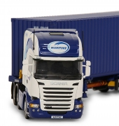 Tekno Model Scania Truck with Container