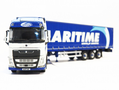 Tekno Model Volvo with Curtainsider